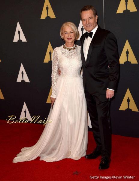 Helen Mireen & Bryan Cranston
