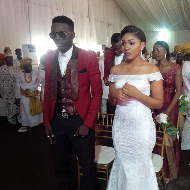 Akpororo Josephine White Wedding 1