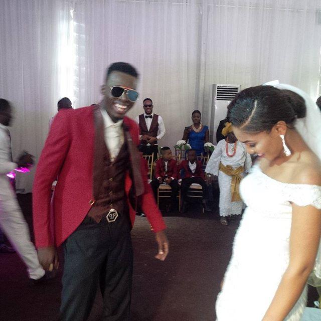Akpororo Josephine White Wedding 3