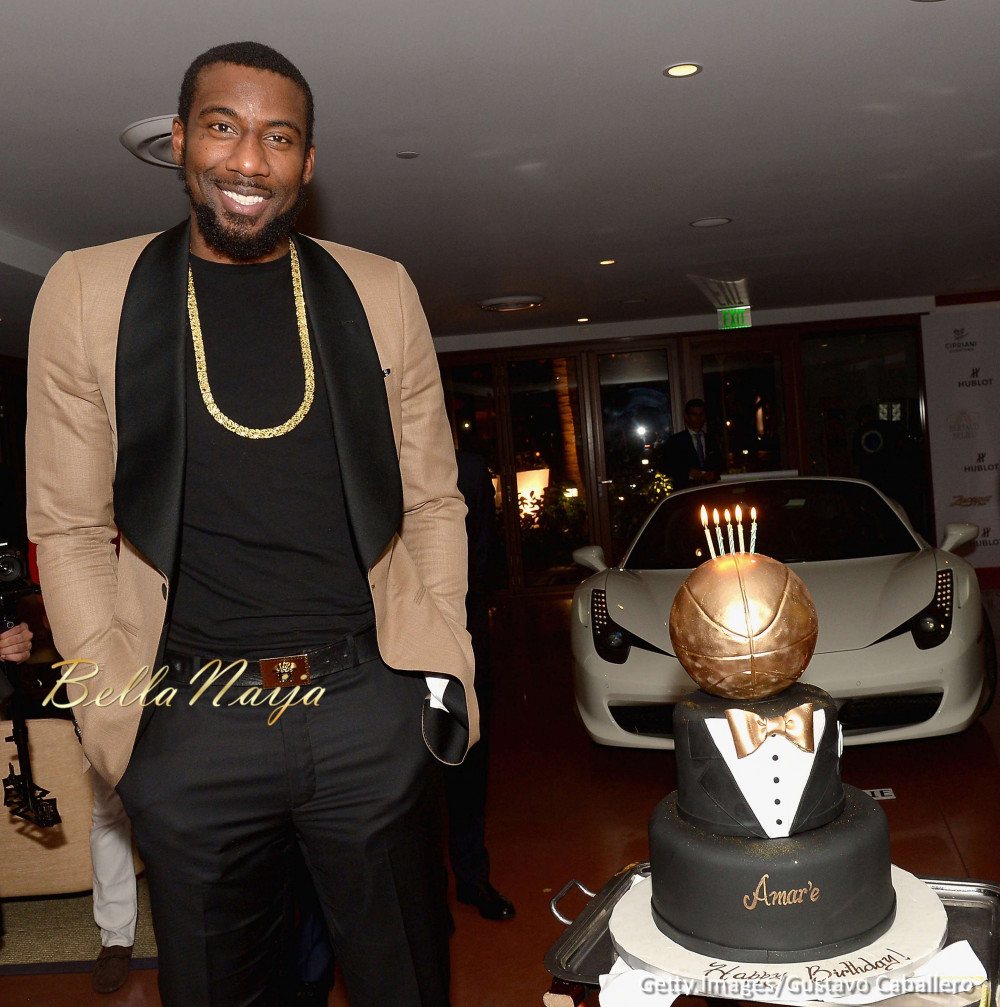 Here s how Miami Heat Player Amar e Stoudemire celebrated his 33rd