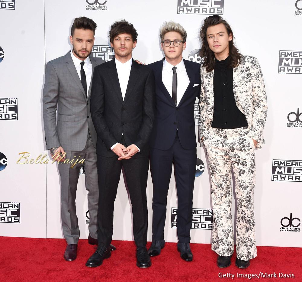 Liam Payne, Louis Tomlinson, Niall Horan, and Harry Styles of One Direction