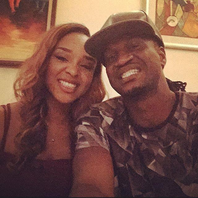 Anita and Paul Okoye