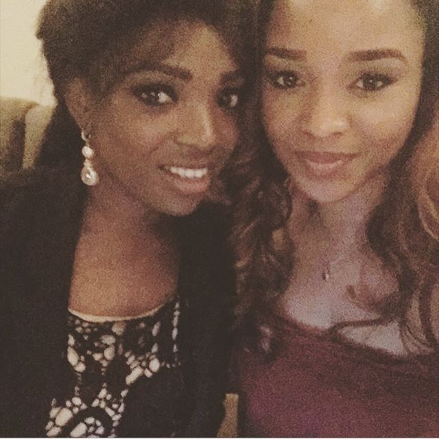 Annie Idibia & Anita Okoye