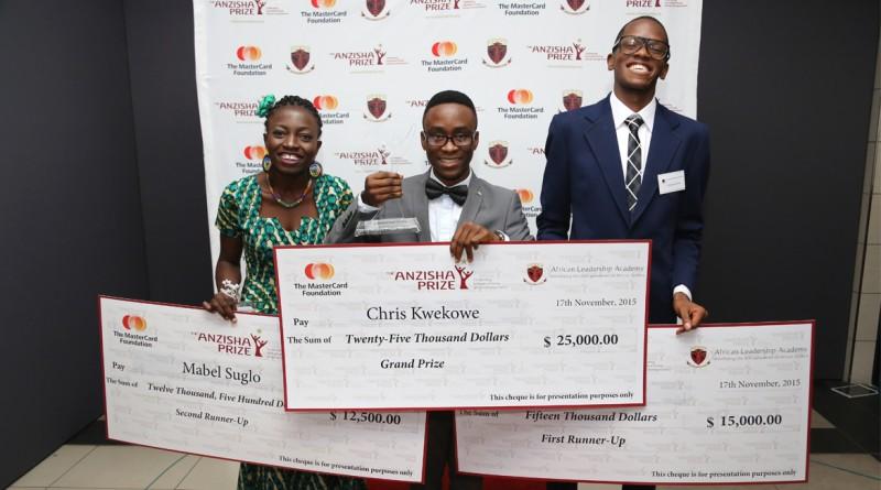 The 2015 Anzisha Prize winners