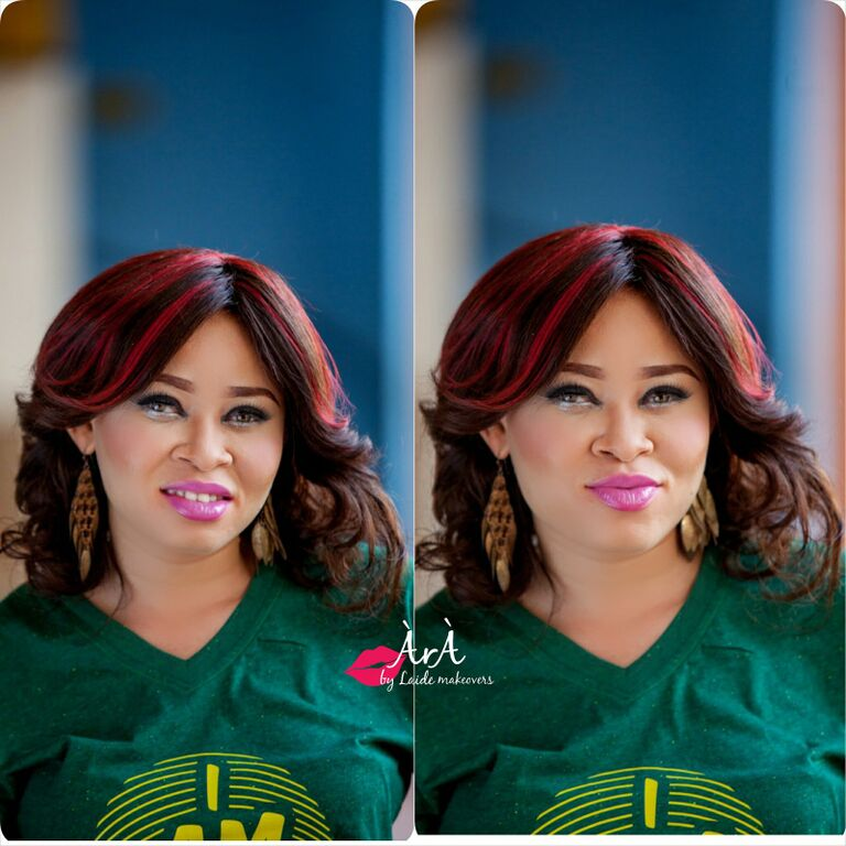 Ara by Laide and OAM Foundation Albino Makeup - BellaNaija - November 2015002
