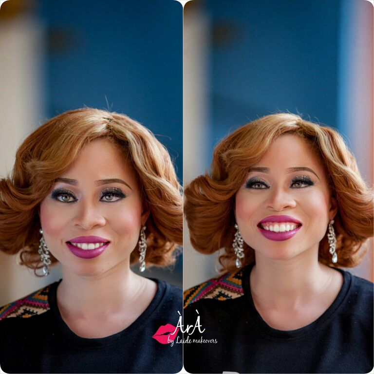 Ara by Laide and OAM Foundation Albino Makeup - BellaNaija - November 2015003