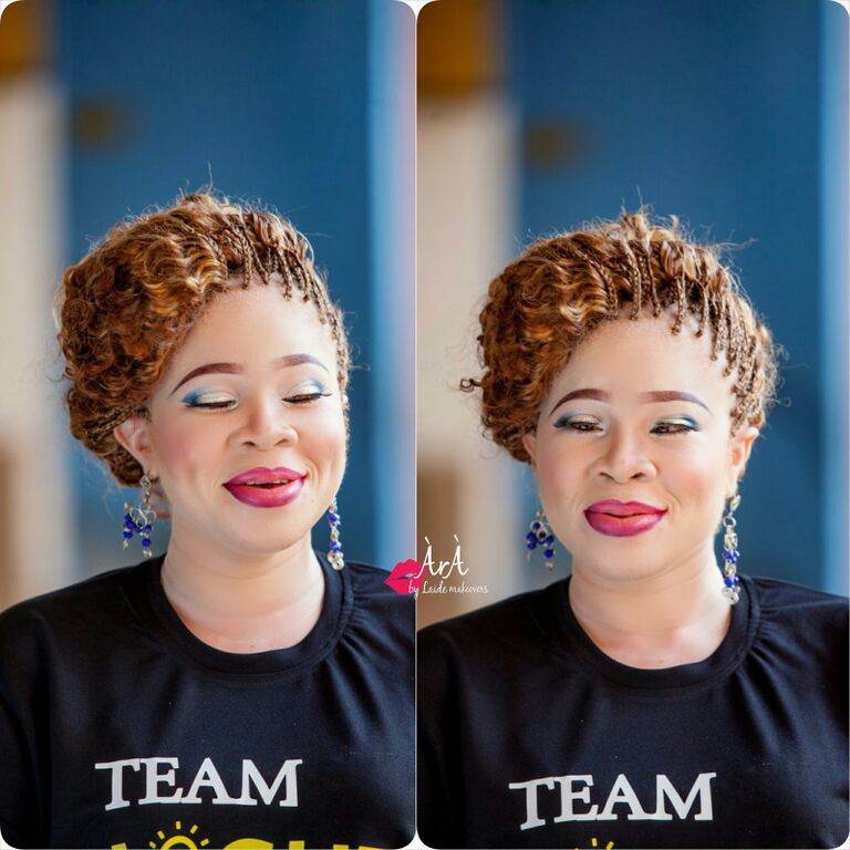 Ara by Laide and OAM Foundation Albino Makeup - BellaNaija - November 2015005