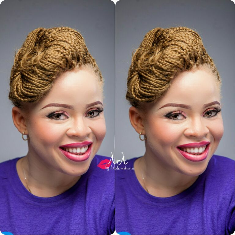 Ara by Laide and OAM Foundation Albino Makeup - BellaNaija - November 2015007