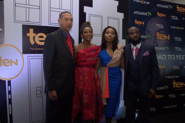 Ben Murrary Bruce, Genevieve Nnaji, Chinny Onwugbenu & Ishaya Bako