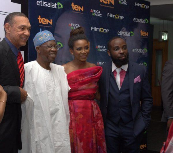 Ben Murray Bruce, Lai Mohammed, Genevieve Nnaji & Ishaya Bako