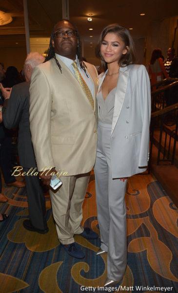 Kazembe Ajamu Coleman and Zendaya