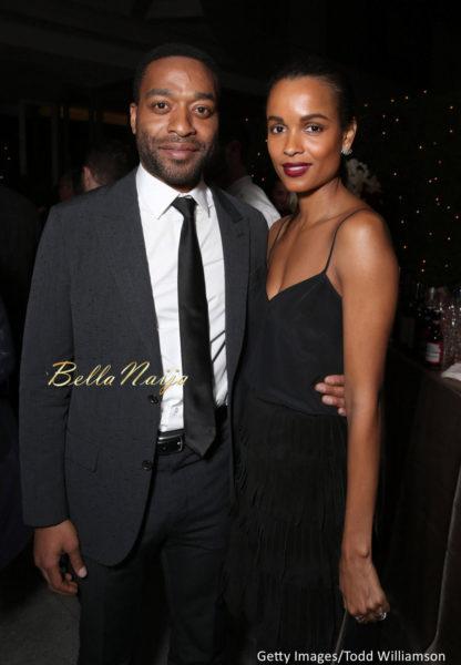 Chiwetel Ejiofor & Frances Aaternir
