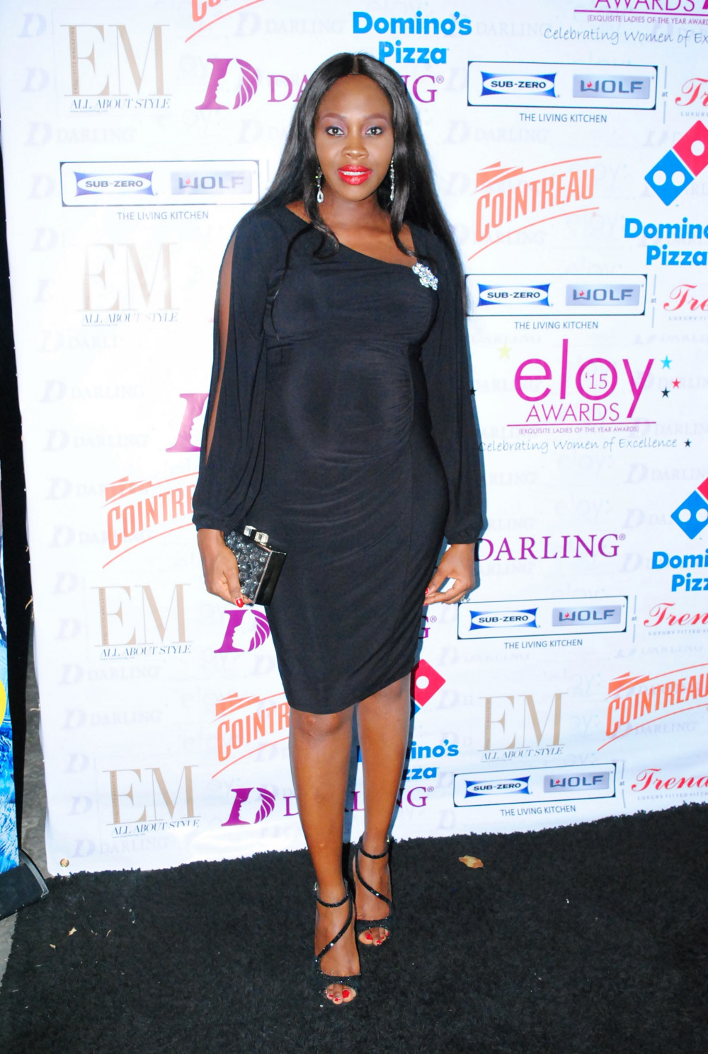 Ariyike Akinbobola at the ELOY Nominee Party
