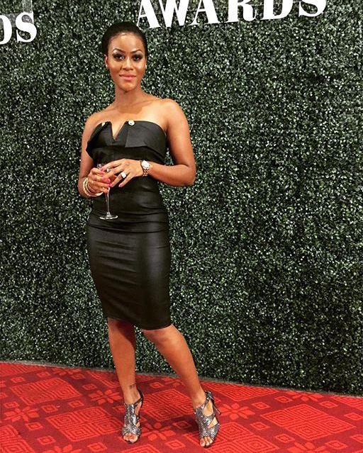Dami at the Glitz Style Awards