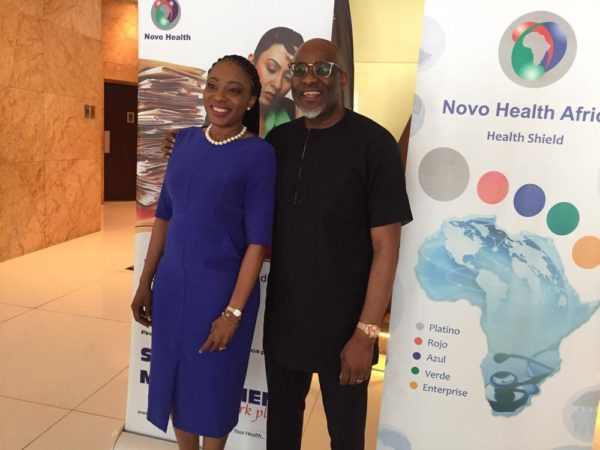 Dr Dorothy Jeff Nnamani with Lanre Olusola