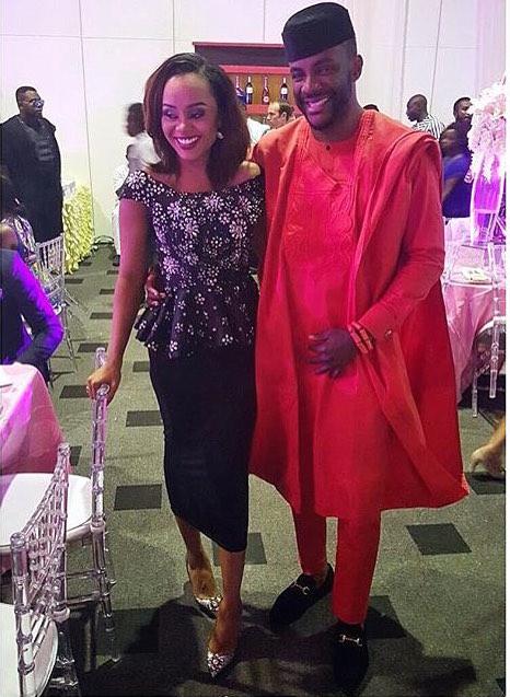 Ebuka Obi-Uchendu and Cynthia