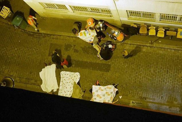 Eye Witness Photo Paris Attack