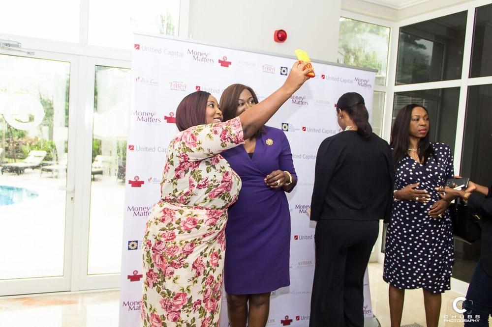 Selfie time with Feyi Olunuga and Nimi Akinkugbe