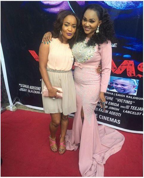Fadakemi Momoh & Mercy Aigbe Gentry