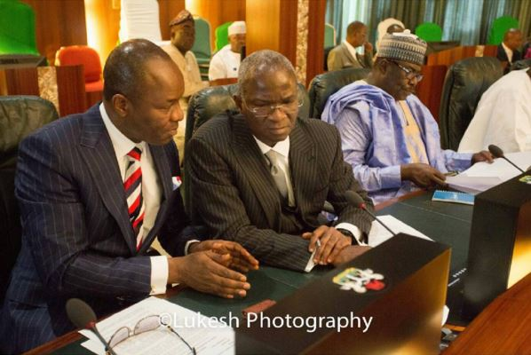 Fashola at Ministers' Inauguration 2