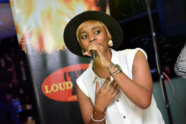 Fefe performs at LoudNProudLive