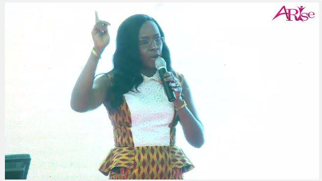 Reverend Catherine Onwioduokit from Ghana