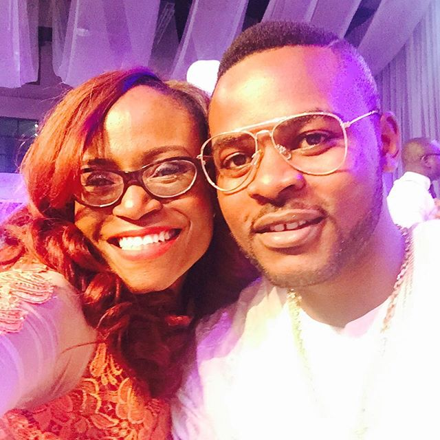 Funke Bucknor-Obruthe and Falz