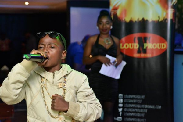 GBT Winner 'Young Star' Mubarak performs on stage