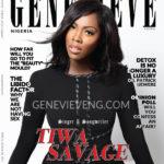 Genevieve Magazine November 2015 Tiwa Savage BellaNaija