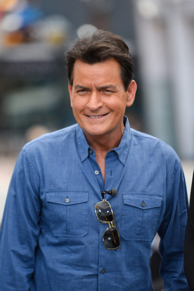 Charlie Sheen in May 2015 (Photo by Noel Vasquez/Getty Images)
