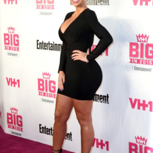 Amber Rose attends VH1 Big in 2015 With Entertainment Weekly Awards at Pacific Design Center on November 15, 2015 in West Hollywood, California.  (Photo by Frederick M. Brown/Getty Images)