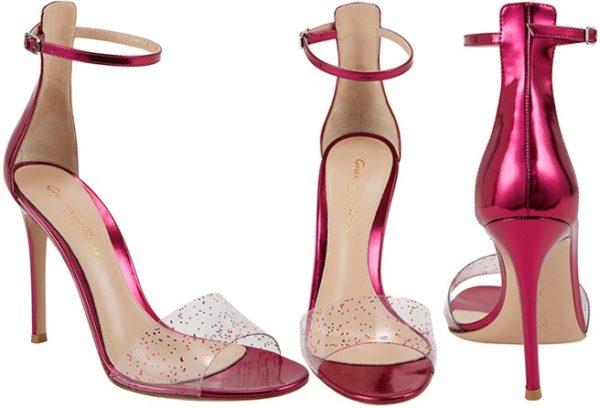 Gianvito-Rossi-Pink-Metallic-Leather-Sandal-SHOP