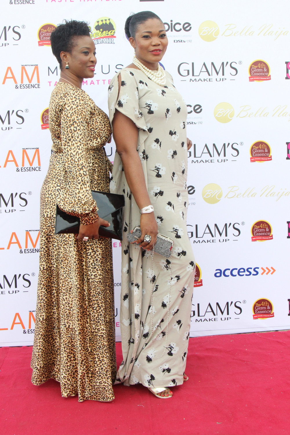 Gladys Adams and Meg Alabi