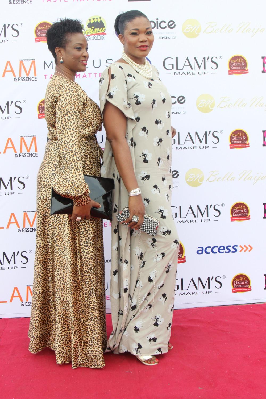 Gladys Adams and Meg Alabi