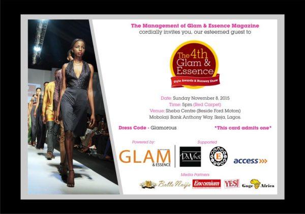 Glam & Essence Style Award 2015 IV