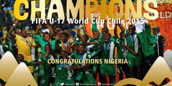 Golden Eaglets U17 World Cup Champions