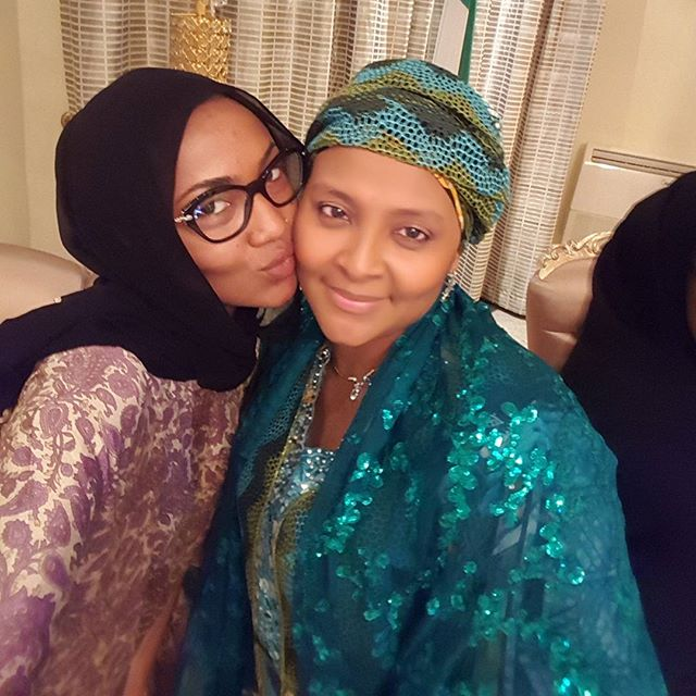 Gumsu Abacha, Zahra Buhari_November 2015 1