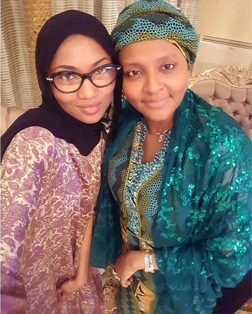 Gumsu Abacha, Zahra Buhari_November 2015 2