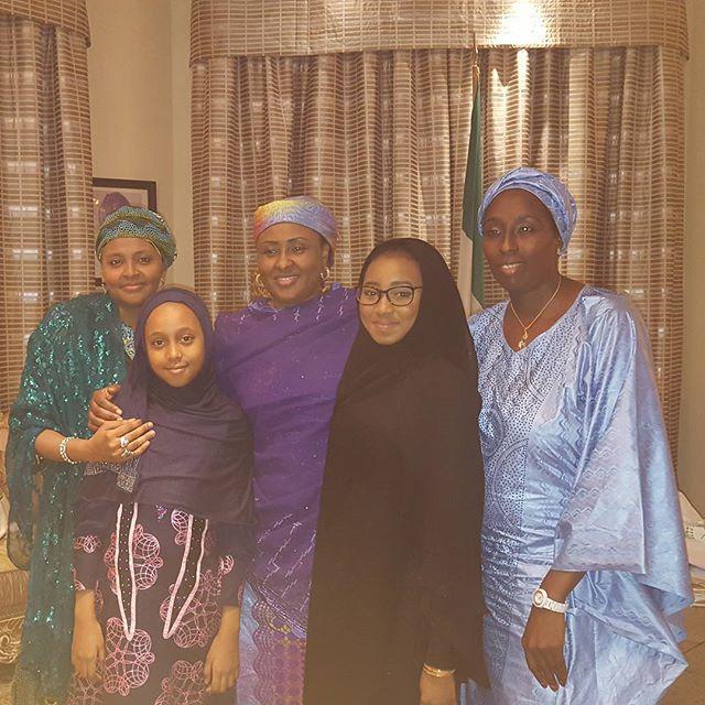 Gumsu Abacha, Zahra Buhari_November 2015 3