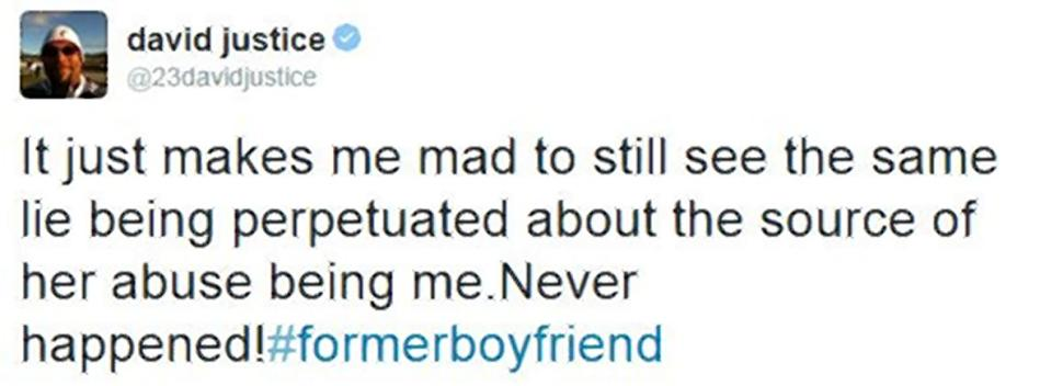 Halle Berry David Justice 3