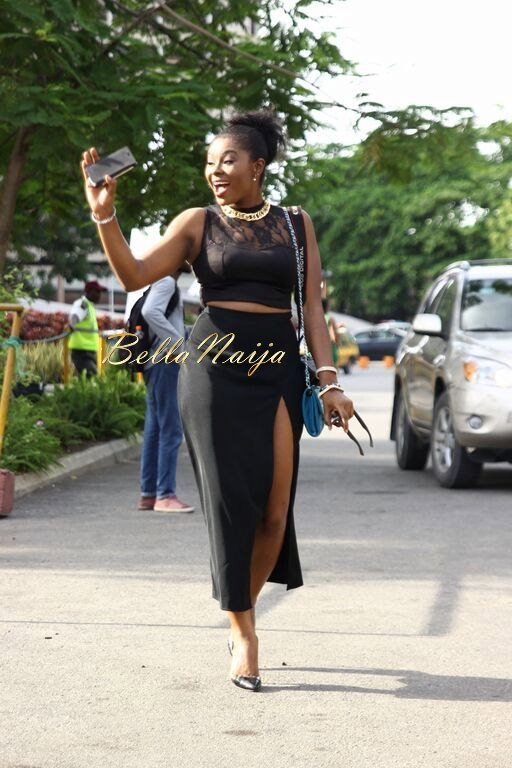 Heineken LFDW 2015 Street Style Day 4 - BellaNaija - October2015001 (32)