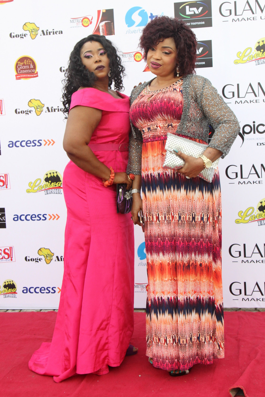 Habiba Lasisi and K.glow