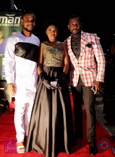 Alexx Ekubo, Omoni Oboli & Joseph Benjamin