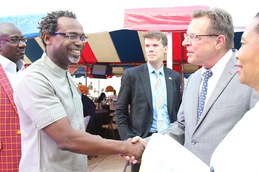 Kelechi Amadi Obi and John Bray