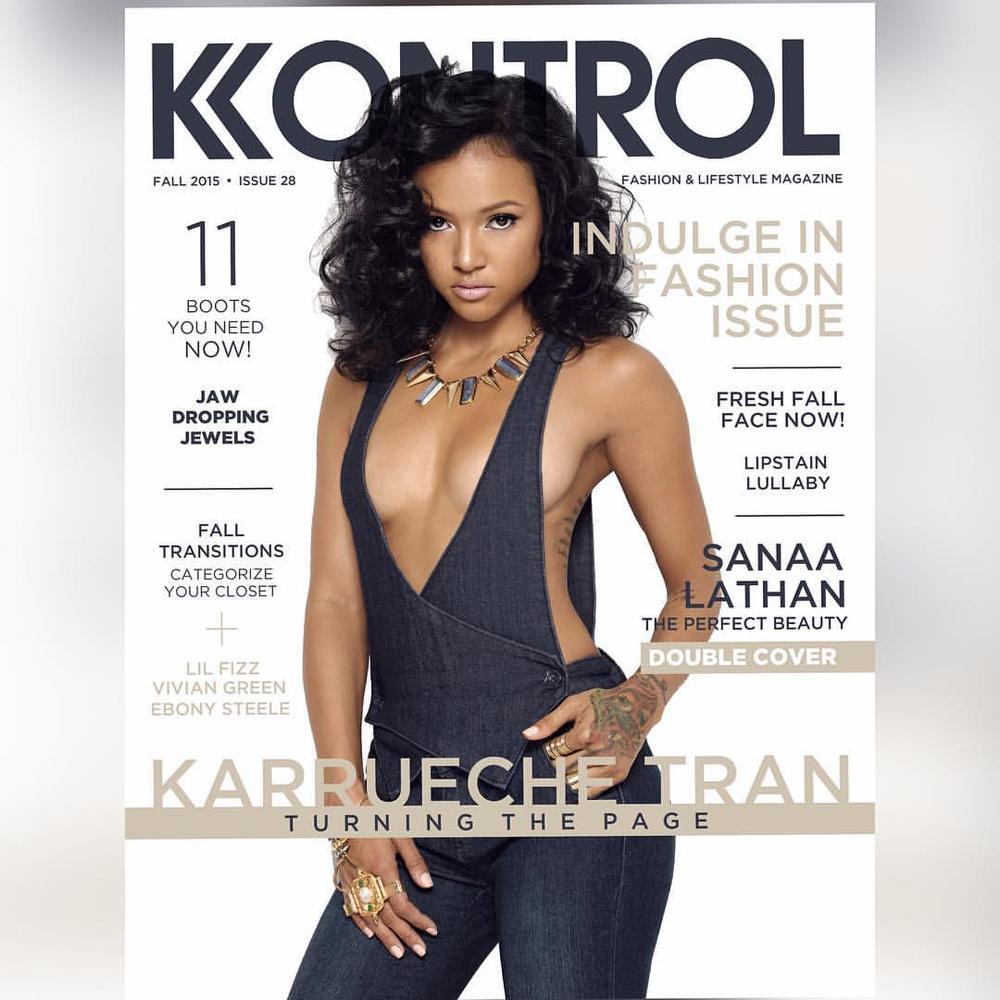 Kontrol Magazine Karrueche