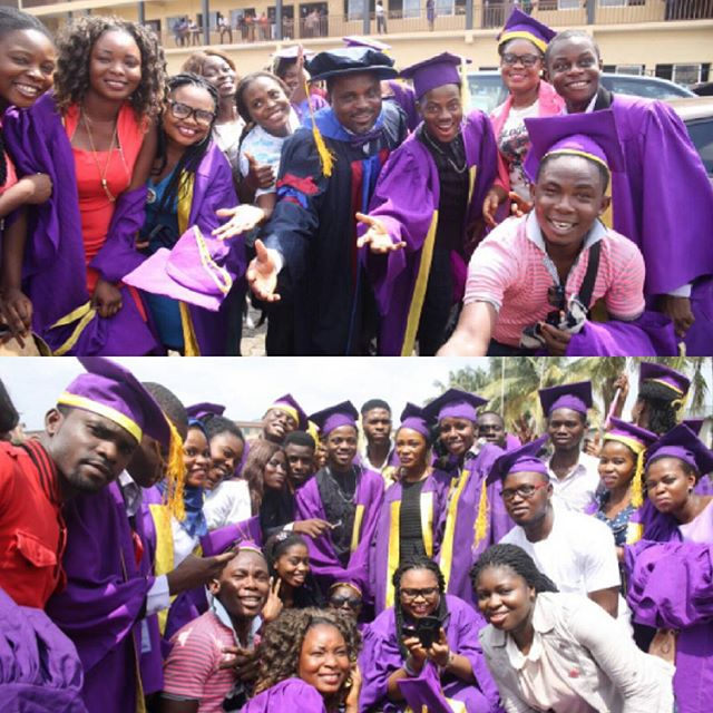 Korede Bello-HND Matriculation at Nigerian Institute of Journalism-BellaNaija-1