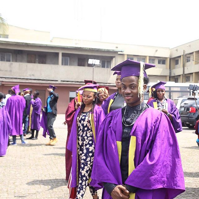 Korede Bello-HND Matriculation at Nigerian Institute of Journalism-BellaNaija-2