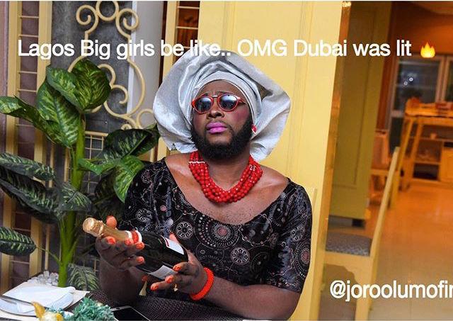 Lagos Big Girl-Joro Olumofin Illustrations-2-BellaNaija 2015
