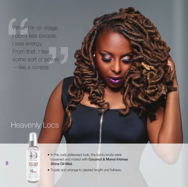 Ledisi for Design Essentials Lookbook - BellaNaija - November 2015004