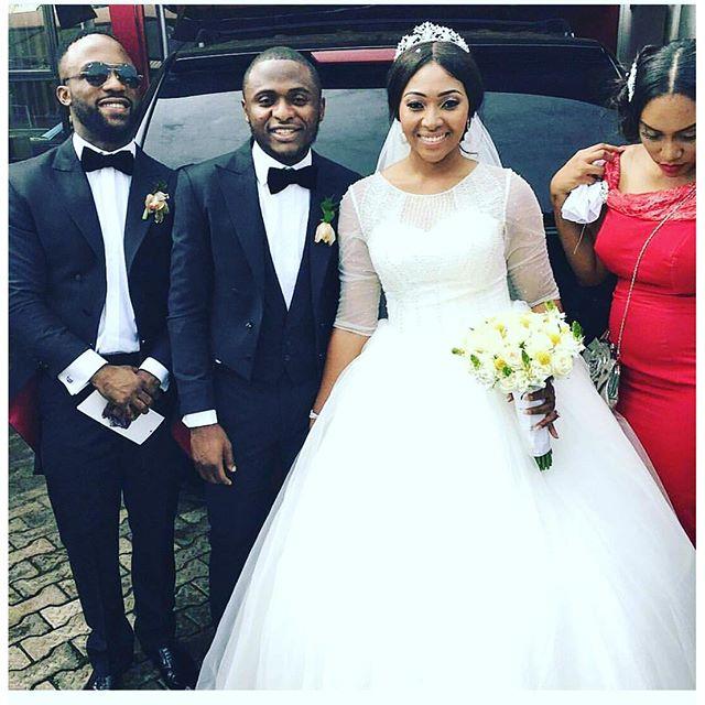 Lilian Esoro & Ubi Franklin White Wedding 11
